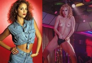 Elizabeth Berkley topless in de film showgirls
