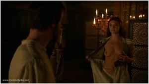 Natalie Dormer topless in film! Screenshot, naaktfoto!